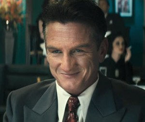 Sean Penn plays XXX in Gangster Squad.